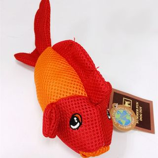 Dog Toy Goldfish from Puppy Love