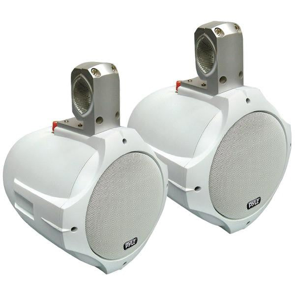 "Pyle PLMRW65 Hydra Series 2-Way Wakeboard Speakers (6.5"", 200 Watts, White) from Pyle"