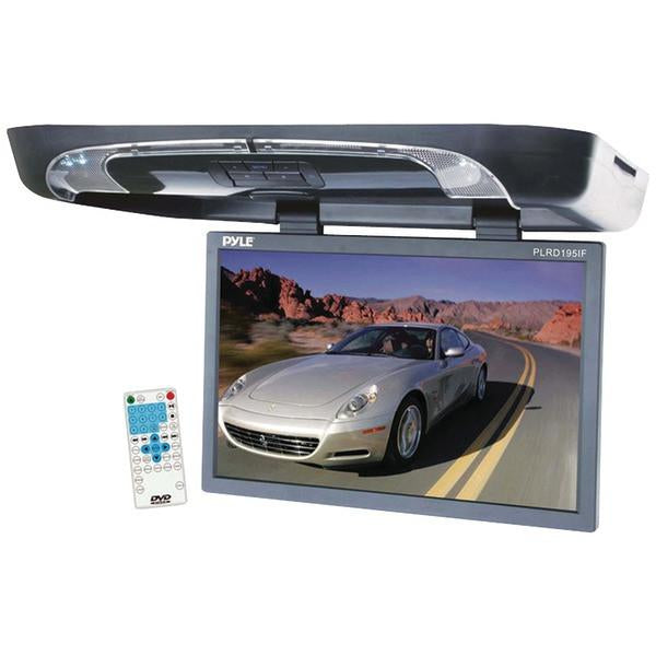 "Pyle PLRD195IF 19"" Ceiling-Mount LCD Monitor with DVD Player & Wireless IR & FM Transmitters from Pyle"