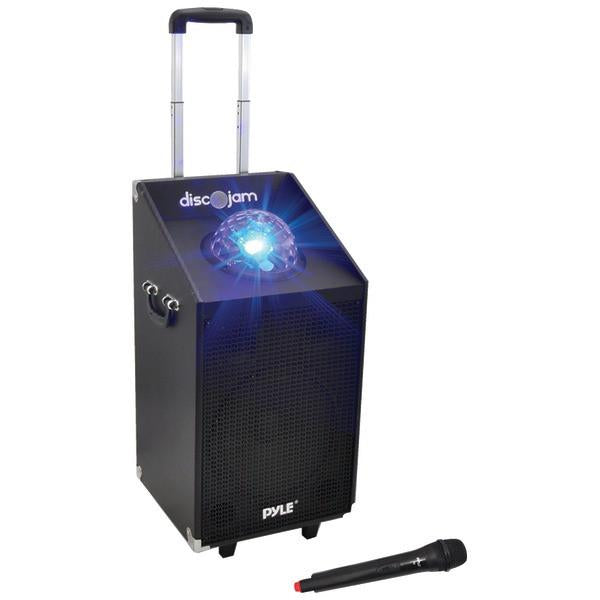 Pyle PWMA1594UFM 600-Watt Bluetooth Battery-Powered Portable PA Speaker System from Pyle