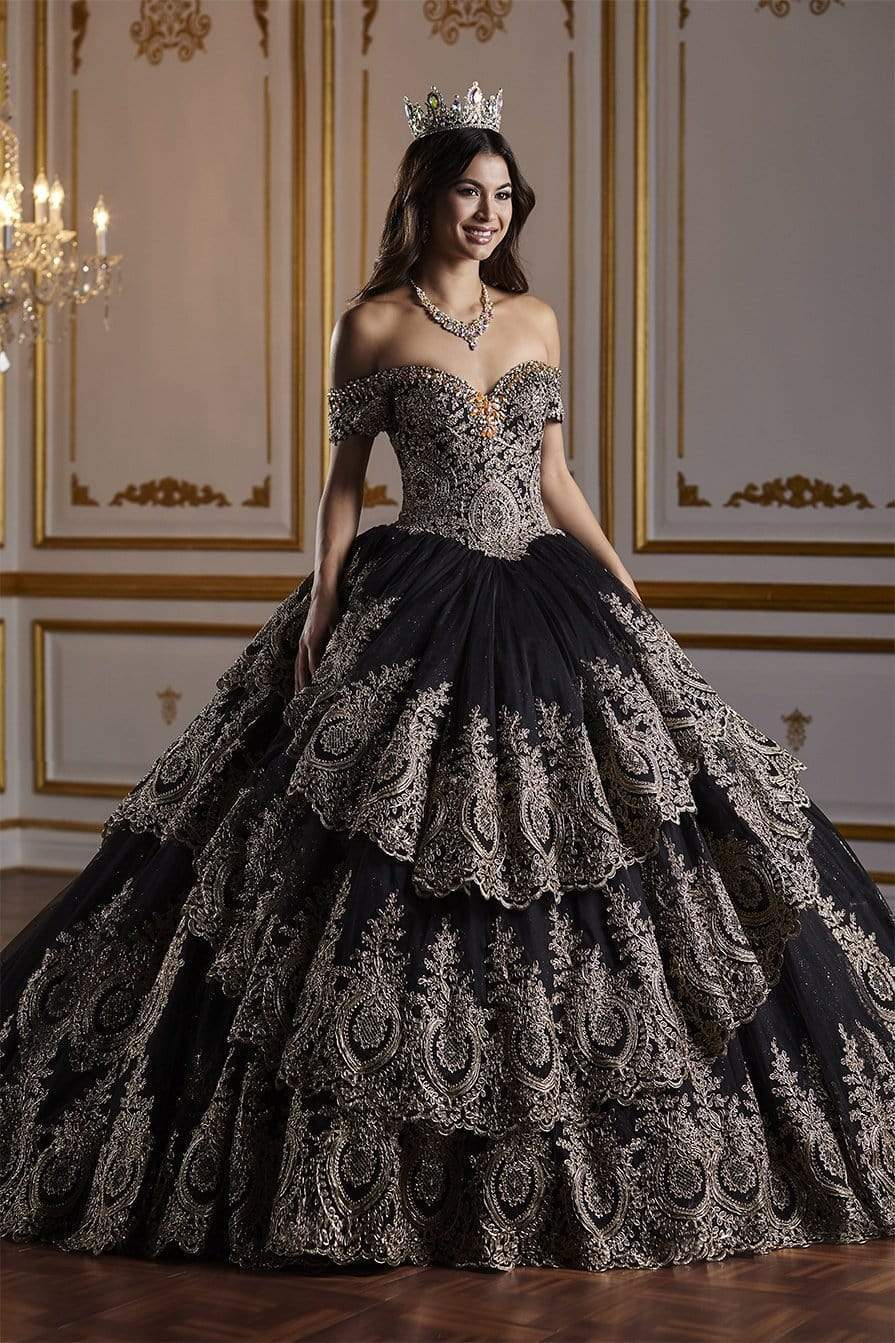 Quinceañera Collection - 26934 Gorgeous Off The Shoulder Ball Gown from Quinceanera Collection