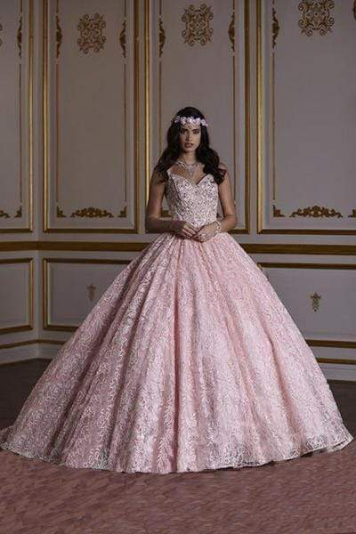 Quinceañera Collection - 26940 Dramatic Lace Ball Gown from Quinceanera Collection