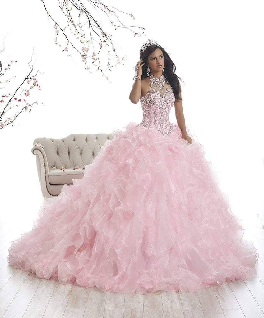 Quinceanera Collection - 26871 Embellished Sleeveless Ballgown from Quinceanera Collection