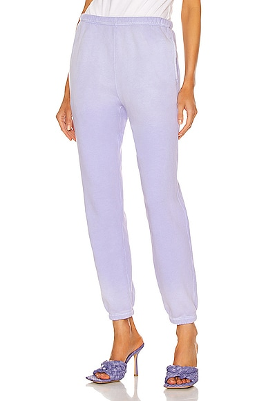 RE/DONE 80's Sweatpant in Lavender from RE/DONE