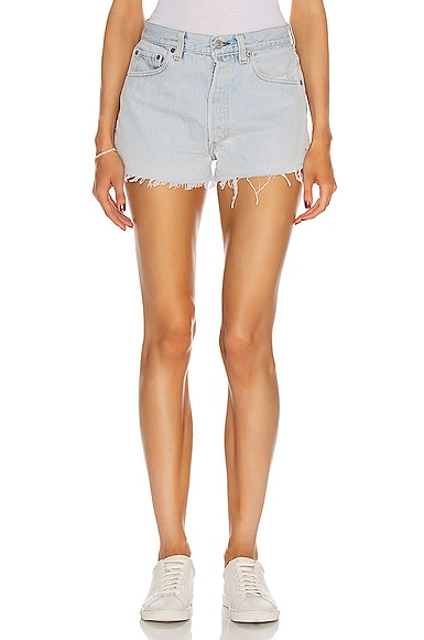 RE/DONE The Short in Denim Light from RE/DONE