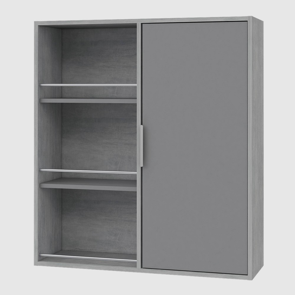 Kamas Mounted Cabinet Gray - RST Brands from RST Brands