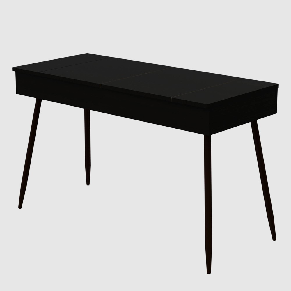 Lindon Modern Writing Desk Black - RST Brands from RST Brands