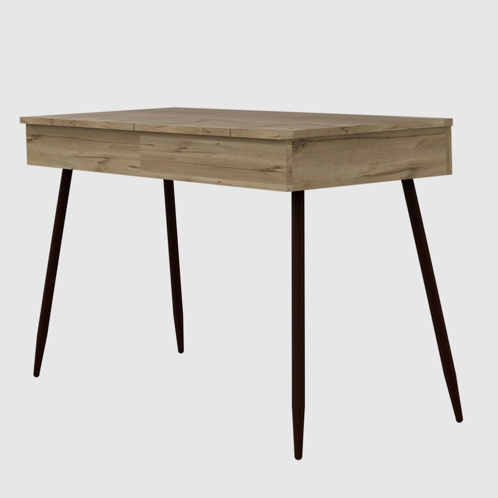 Lindon Modern Writing Desk Natural - RST Brands from RST Brands