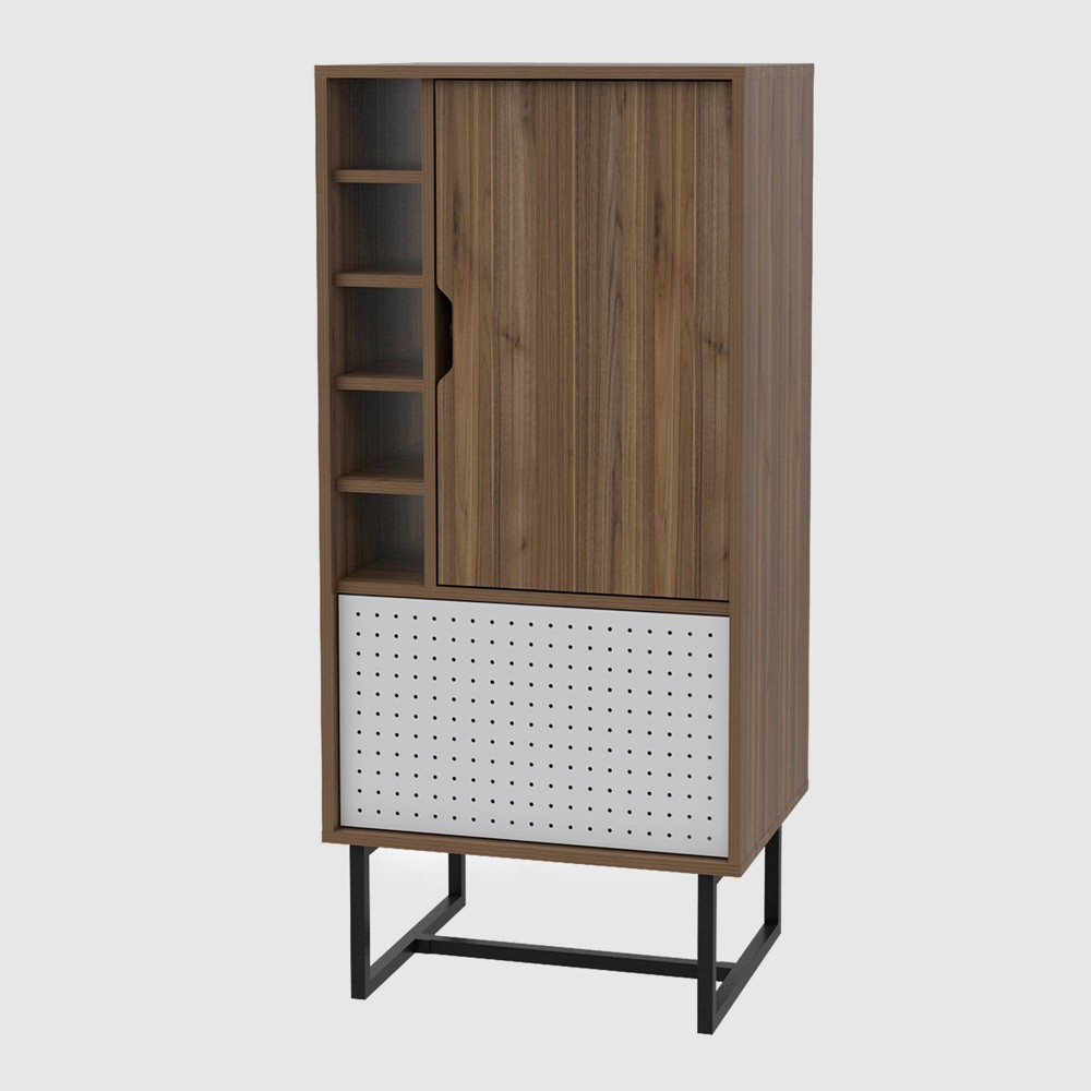 Vernal Bar Cabinet Mahogany - RST Brands from RST Brands