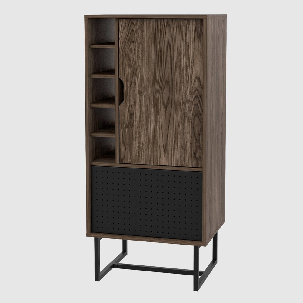 Vernal Bar Cabinet Walnut - RST Brands from RST Brands