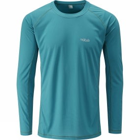 Mens Interval LS Crew from Rab