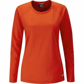 Women's Crimp Long Sleeve Tee from Rab