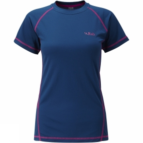Women's Dryflo 120 Short Sleeve Tee from Rab