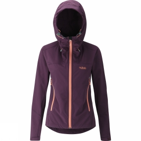 Womens Sawtooth Hoodie from Rab