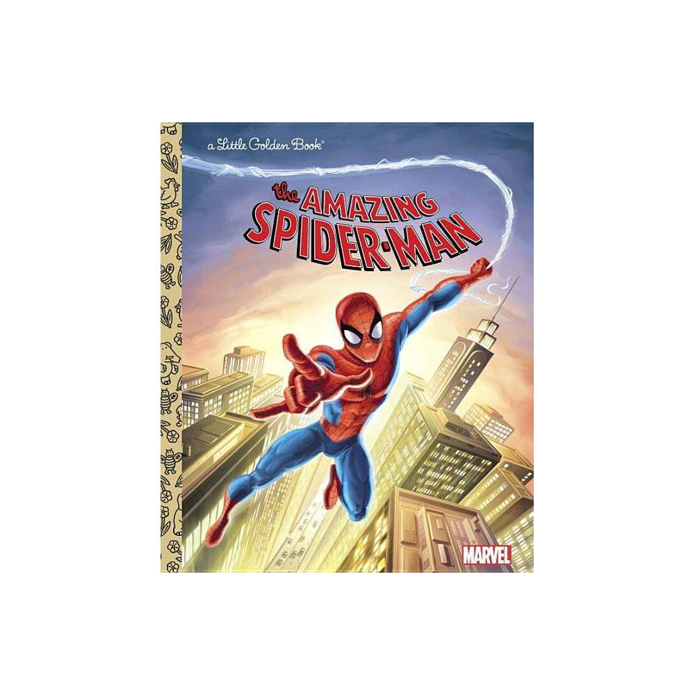 The Amazing Spider-Man (Marvel: Spider-Man) - (Little Golden Book) by Frank Berrios (Hardcover) from Random House