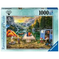 Ravensburger 2D Adult Puzzle Calm Campsite 1.000 pcs. for ages 14 + from Ravensburger