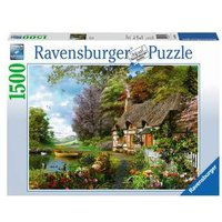Ravensburger 2D Adult Puzzle Country Cottage 1.500 pcs. for ages 14 + from Ravensburger
