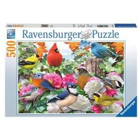 Ravensburger 2D Adult Puzzle Garden Birds 500 pcs. for ages 9 + from Ravensburger