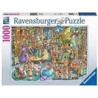 Ravensburger 2D Adult Puzzle Midnight at the Library 1.000 pcs. for ages 14 + from Ravensburger