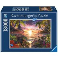 Ravensburger 2D Adult Puzzle Paradise Sunset 18.000 pcs. for ages 14 + from Ravensburger