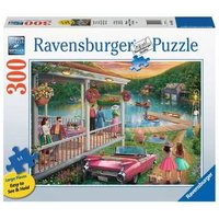 Ravensburger 2D Adult Puzzle Summer at the Lake 300 pcs. for ages 12 + from Ravensburger