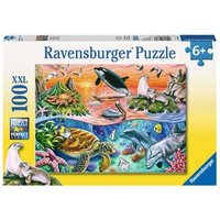 Ravensburger 2D Children's Puzzle Beautiful Ocean 100 pcs. for ages 6 + from Ravensburger