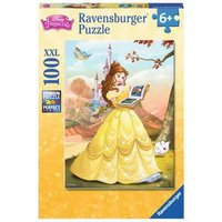 Ravensburger 2D Children's Puzzle Belle Reads a Fairy Tale 100 pcs. for ages 6 + from Ravensburger