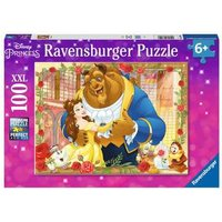 Ravensburger 2D Children's Puzzle Belle & Beast 100 pcs. for ages 6 + from Ravensburger
