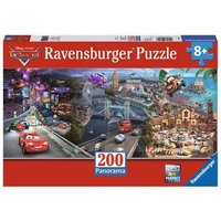 Ravensburger 2D Children's Puzzle Cars 2 Panorama 200 pcs. for ages 8 + from Ravensburger
