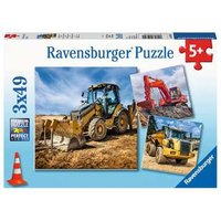 Ravensburger 2D Children's Puzzle Digger at work!   pcs. for ages 5 + from Ravensburger