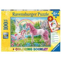 Ravensburger 2D Children's Puzzle Magical Unicorns 100 pcs. for ages 6 + from Ravensburger