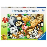 Ravensburger 2D Children's Puzzle Softies 35 pcs. for ages 4 + from Ravensburger