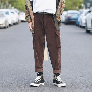 Corduroy Cargo Pants from Real Boy