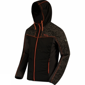 Mens Pendan Hybrid Hooded Fleece from Regatta