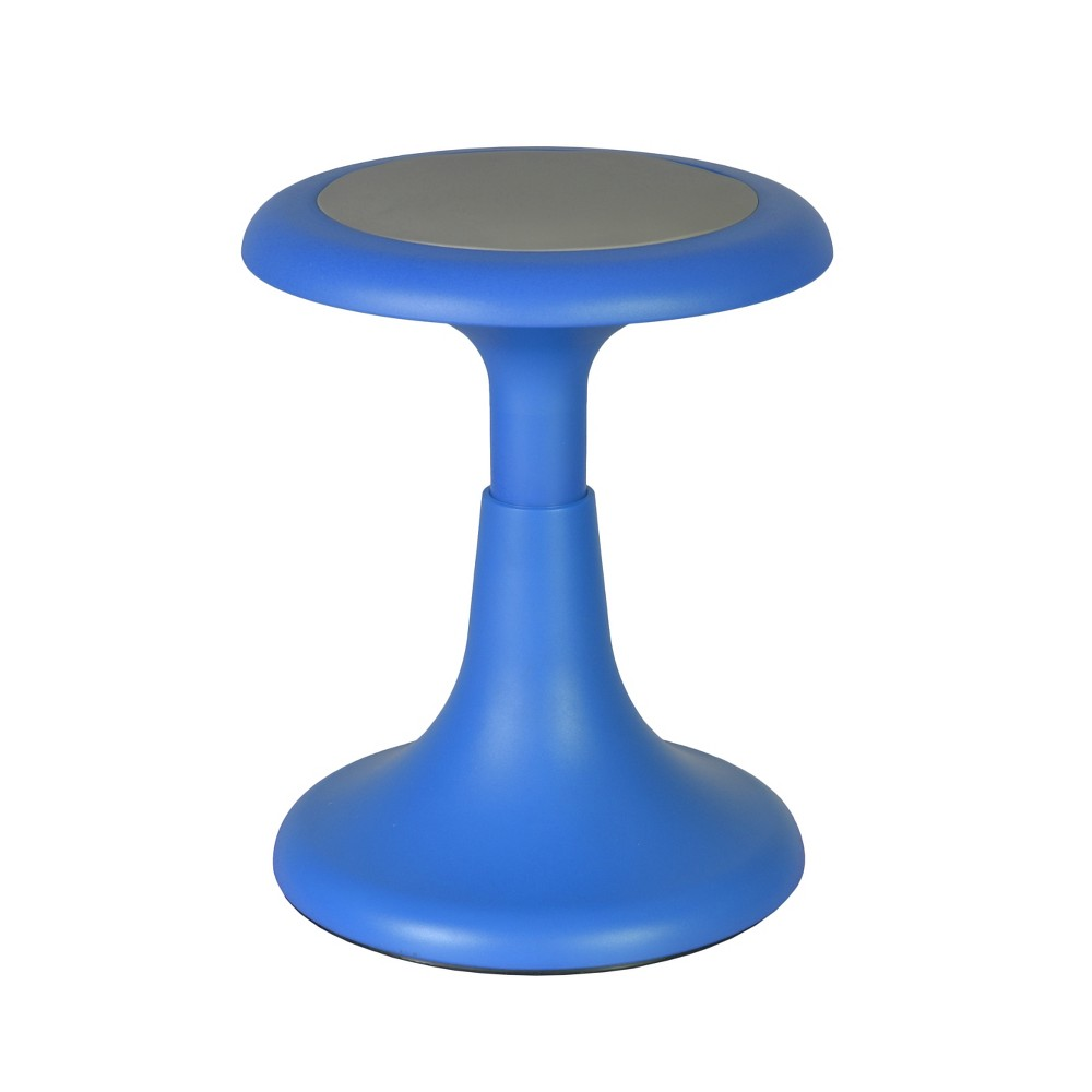 "17"" Glow Wobble Stool Blue - Regency from Regency"