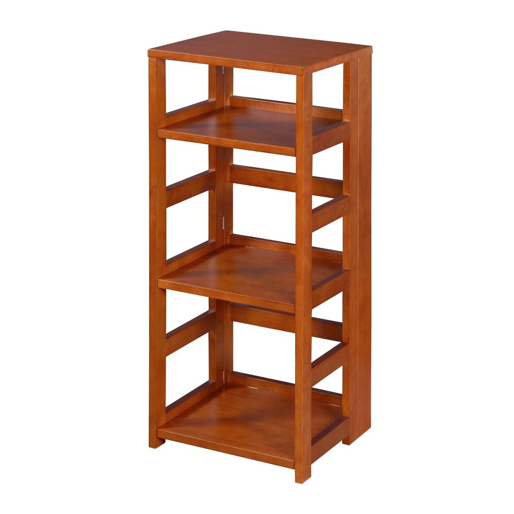 "34"" Cakewalk High Square Folding Bookcase Cherry - Regency from Regency"