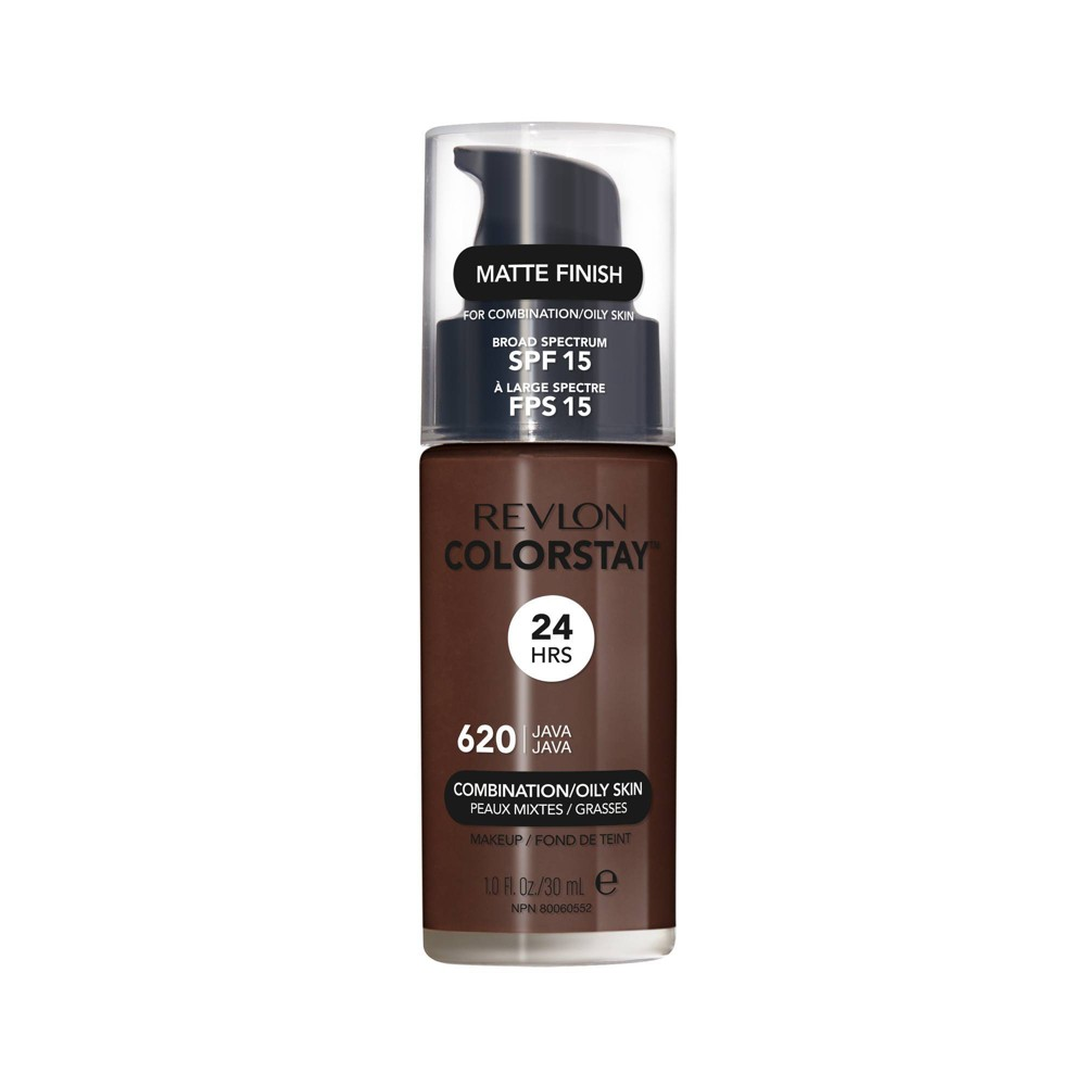 Revlon ColorStay Makeup for Combination/Oily Skin with SPF 15 - 620 Java - 1 fl oz from Revlon
