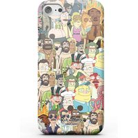 Rick and Morty Interdimentional TV Characters Phone Case for iPhone and Android - Samsung S6 Edge - Snap Case - Matte from Rick and Morty