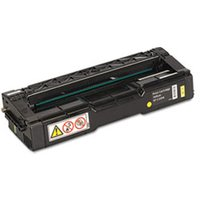 406044 Toner, 2000 Page-Yield, Yellow from Ricoh