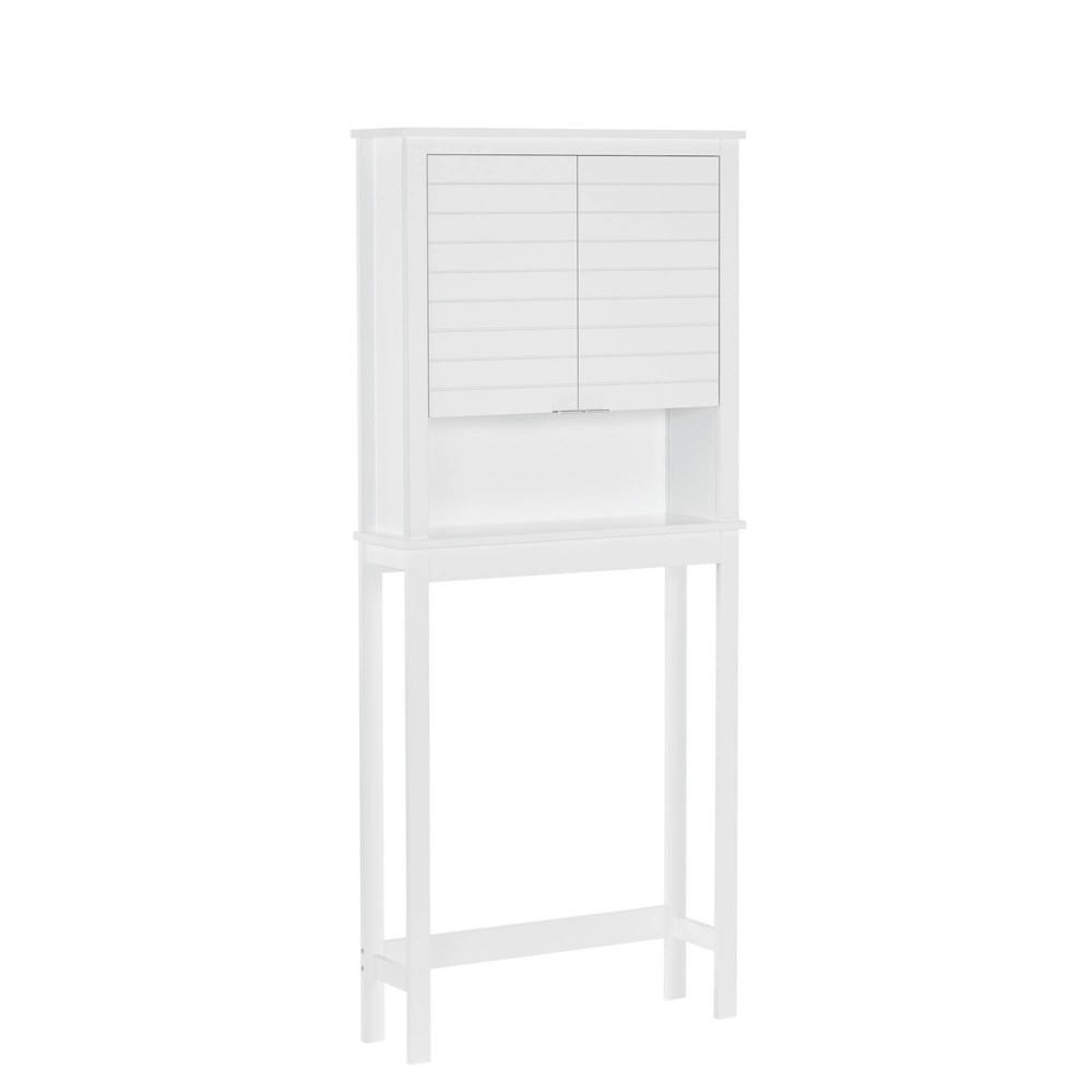 Madison Collection Spacesaver Etagere White - RiverRidge Home from RiverRidge Home