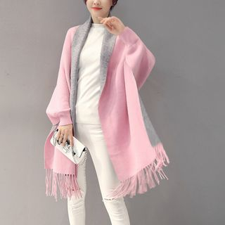 Fringed Long Coat from Romantica