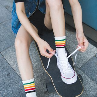 Striped Socks from SHINSHIN