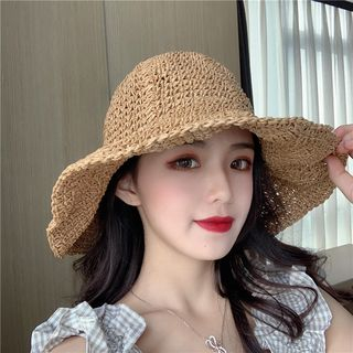 Straw Sun Hat from SOCOOL