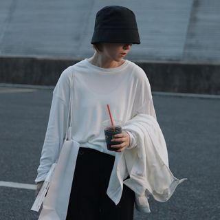 Long-Sleeve Plain T-Shirt from STILL YOU