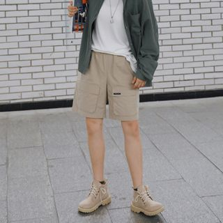 Wide-Leg Cargo Shorts from STILL YOU