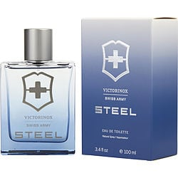 SWISS ARMY STEEL by Swiss Army EDT SPRAY 3.4 OZ for MEN from SWISS ARMY STEEL