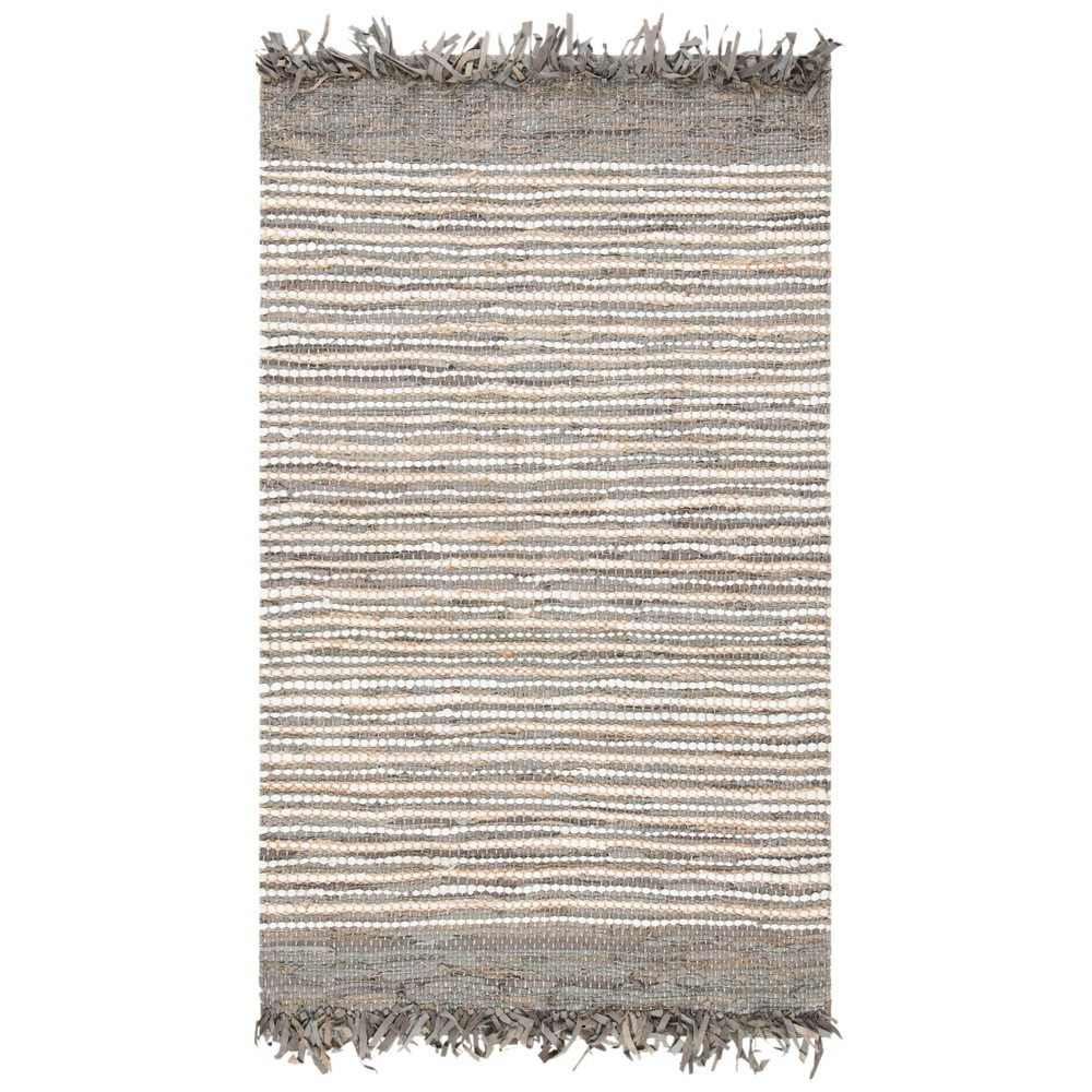 Gray Stripe Woven Accent Rug 2'X3' - Safavieh from Safavieh