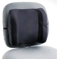 Remedease High Profile Backrest,123/4w x 4d x 13h, Black from Safco