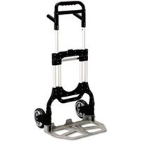 Stow-Away Heavy-Duty Hand Truck, 500lb Capacity, 23w x 24d x 50h, Aluminum from Safco