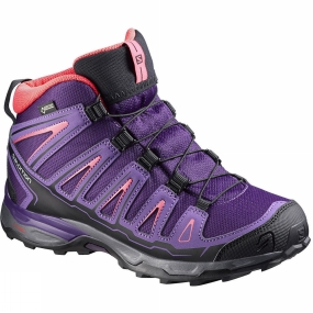 Kids X-Ultra Mid GTX Shoe from Salomon